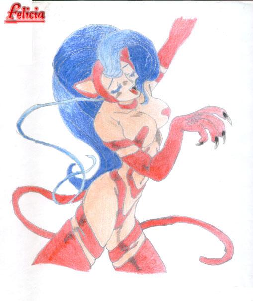 Felicia in Red by Claudija