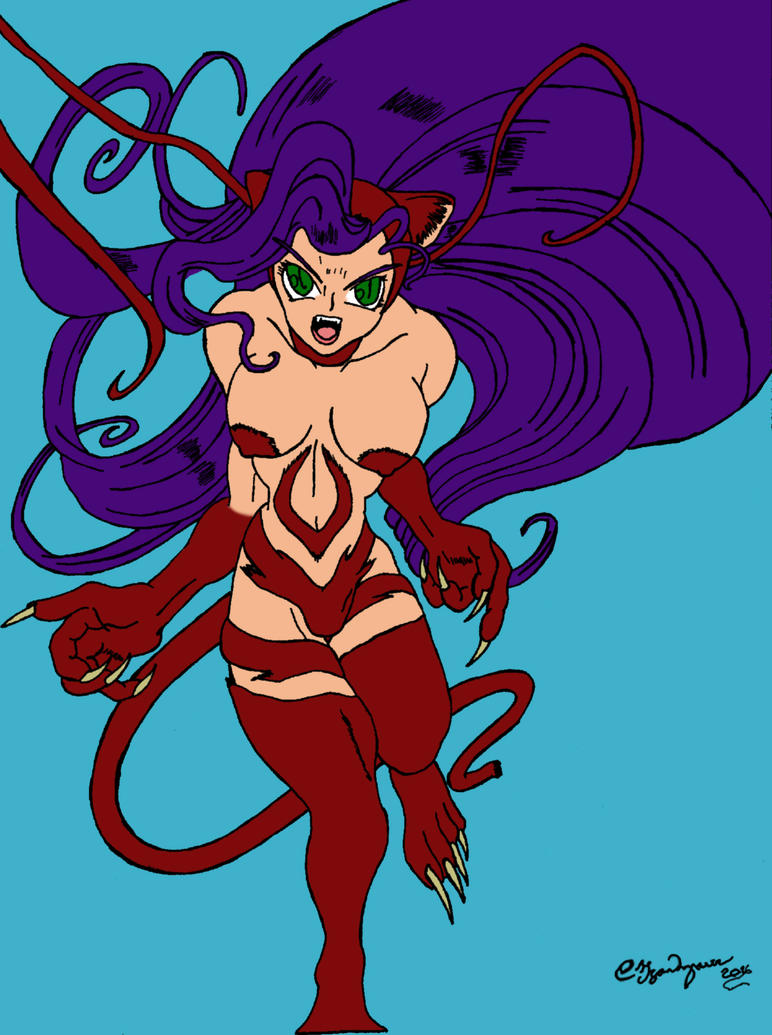 Felicia the Catwoman 01 Remastered: Flat Colors by Claudija