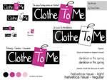 ClotheToMe - logo