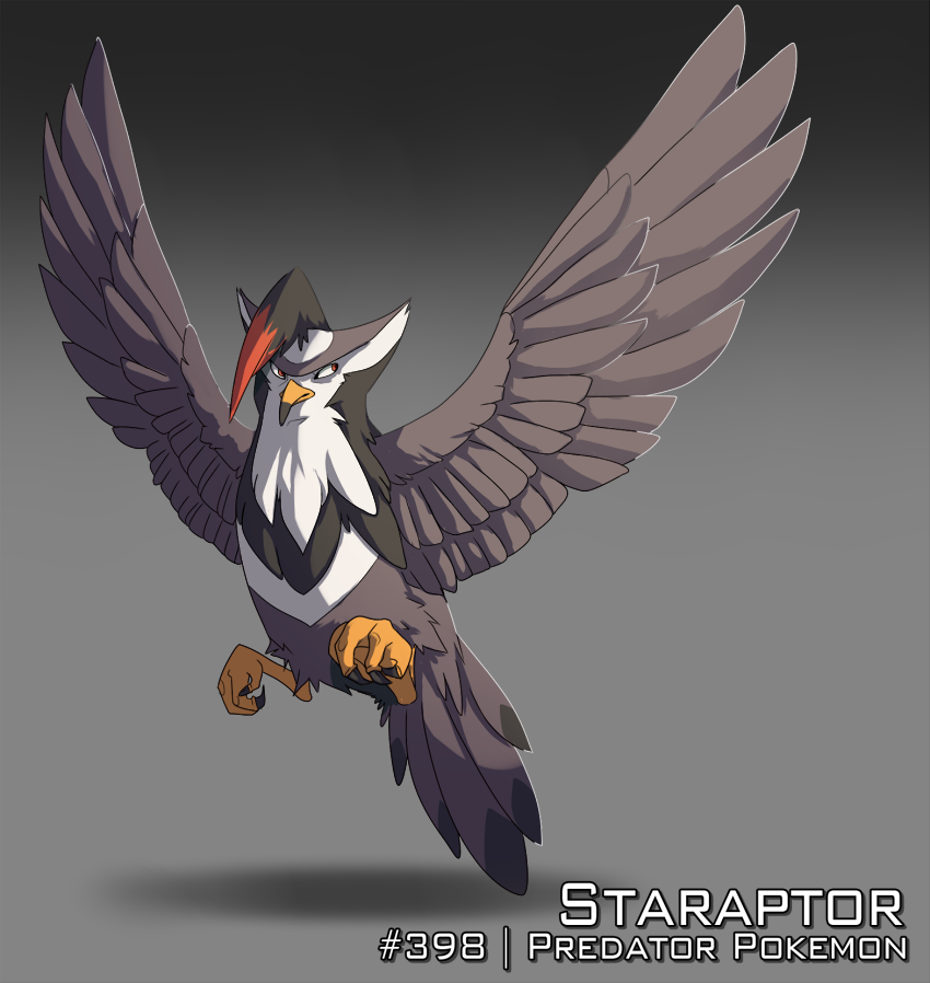 :Day 8: Staraptor by AkaPanuka on DeviantArt