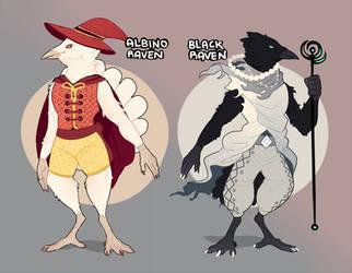 Raven Wizard Adopts?? [OPEN] by AkaPanuka