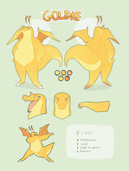 Goldie Reference Sheet