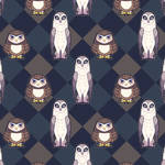 Owls and Plaid