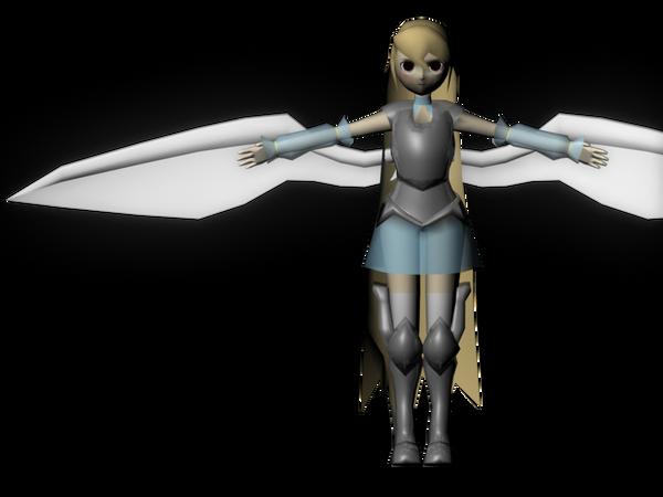 Low Polygon 3D Character by JoySakurai on DeviantArt