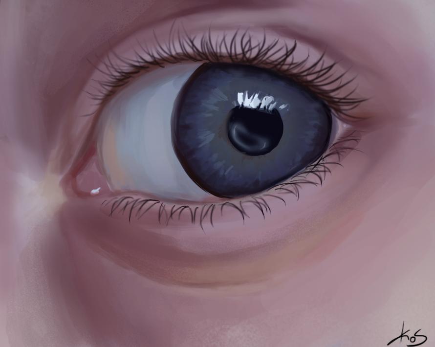 Ariet's eye by PrincessUnreal12
