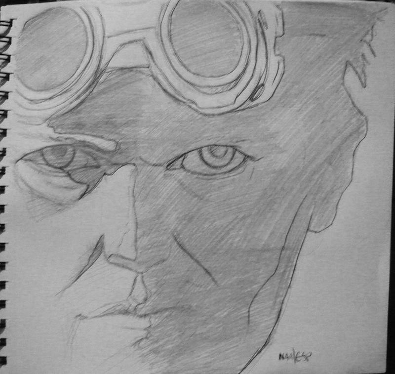 AZ Sketches - Dr. Horrible by bandit-revolver