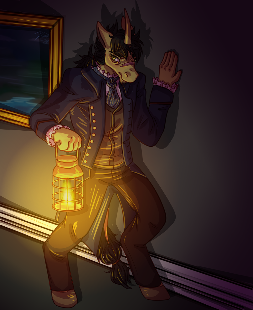 HarmonyHarp commission by dragoncat-senpai