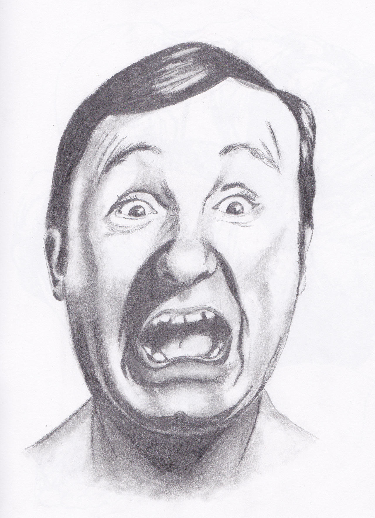 Scared face.... by Robiutadraguta2003 on DeviantArt