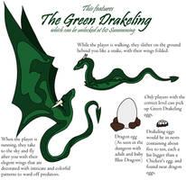 Drakeling Concept Art by Rjalker
