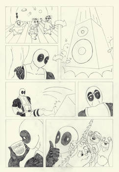 B-Day Gift - Deadpool Comic