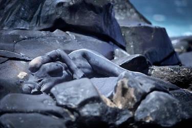 rocky blue waves by LailaPregizer