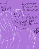 Stop The Bullying by PlatinumxRose