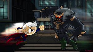 Lincoln Loud ( Superboy ) vs. Doomsday
