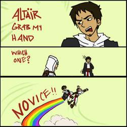 Altair grab my by jassessino