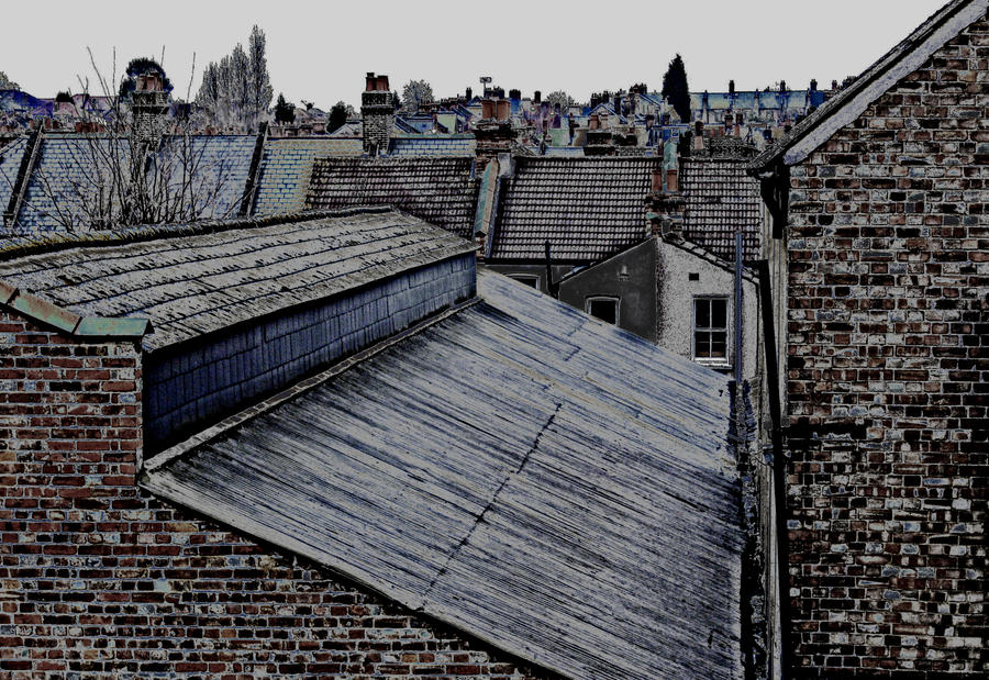 London Roofs - Suicidal Morning in Norbury by margentx ... & London Roofs - Suicidal Morning in Norbury by margentx on DeviantArt memphite.com