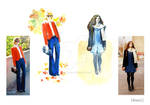 Outfit Illustrations 16nov