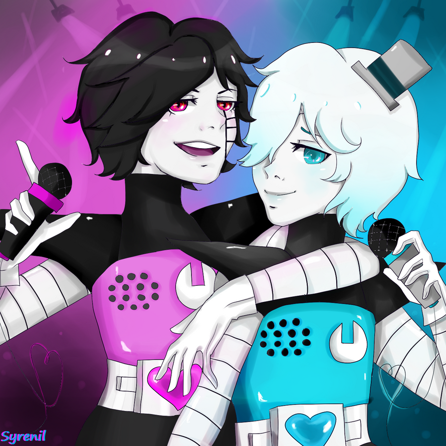 Mettaton and Napstablook Robot Forms! by CandiGhost on DeviantArt