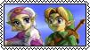 Legend Of Zelda Stamp