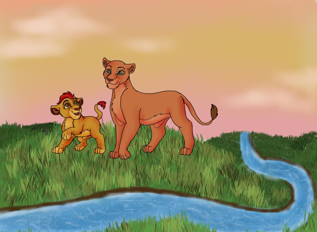 Mama's boy by DoodleDayDream