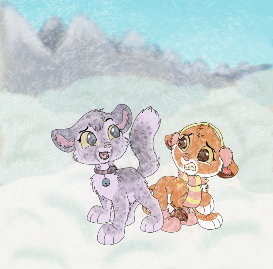Frosty friends by DoodleDayDream