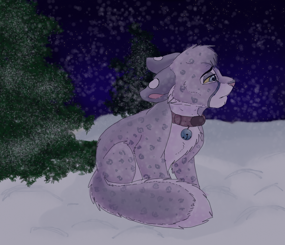 Blizzard blues by DoodleDayDream