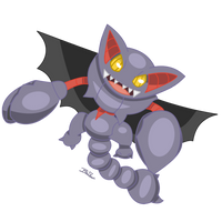 Pokemon - Gliscor by PirateGod3D2Y