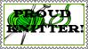 Proud Knitter Stamp by Ra1nDanc3r