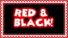 Red And Black Stamp by Ra1nDanc3r