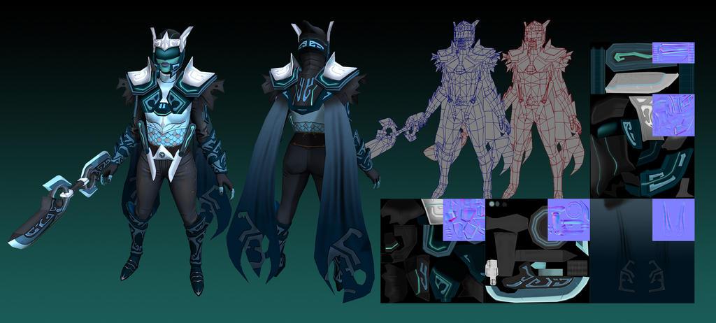 Phantom Assassin - Gemini Set by xx0xNEiTHx0xx on DeviantArt