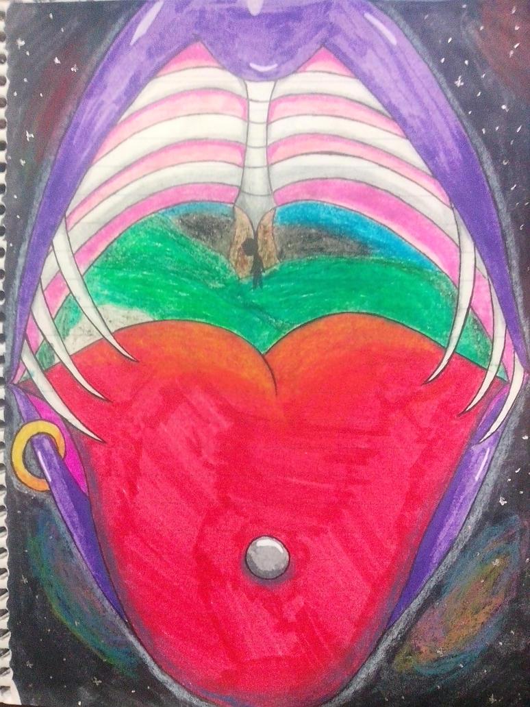 La boca del espacio by CandyVonBitter