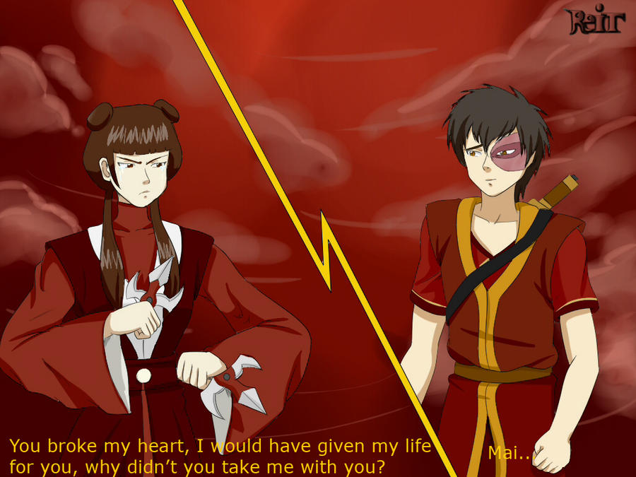 Zuko vs Mai by VideoFan9864 on DeviantArt