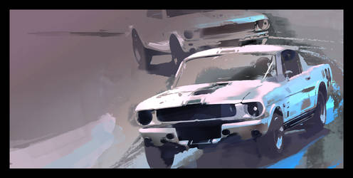 Shelby GT350 by airgee