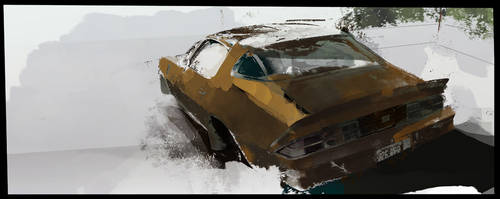 Piece of c...p Camaro by airgee