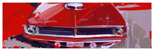 1970 'Cuda by airgee