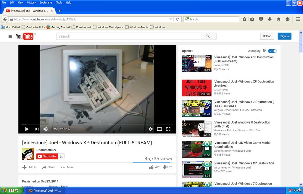 Windows XP My Youtube from SuperRosey16Fan by kimmyfinster2476pro