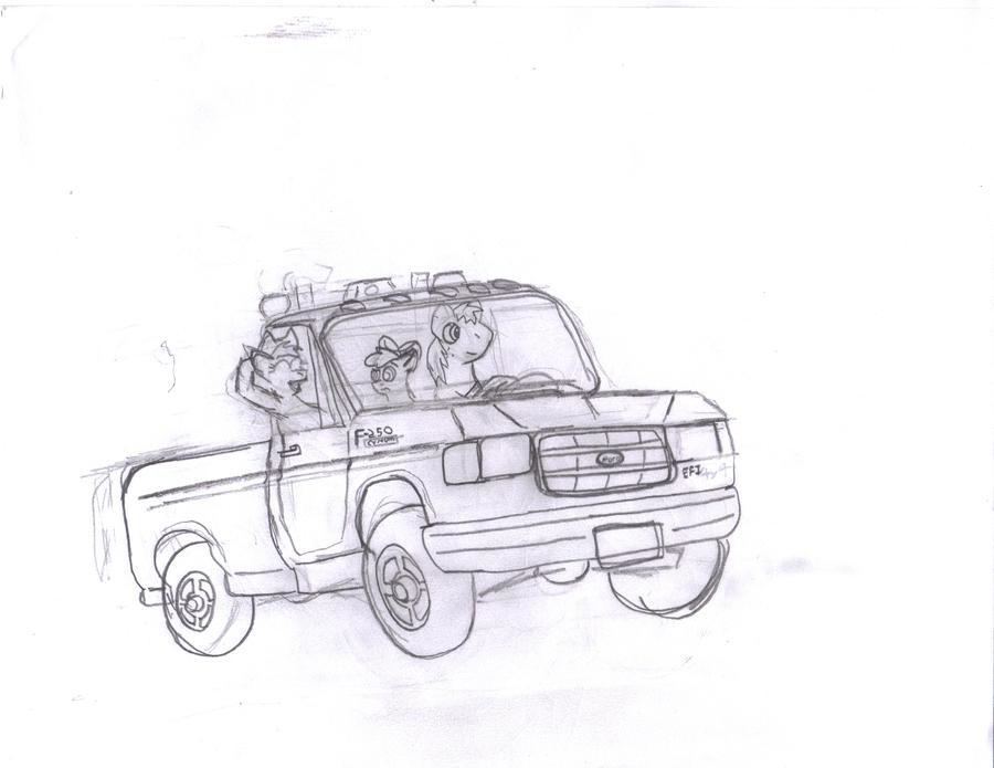 big mac u0026 39 s truck sketch by shortcircuitca on deviantart