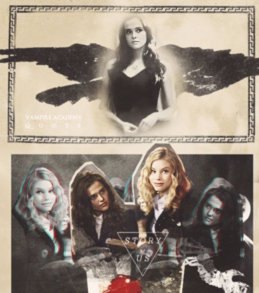 Rose Hathaway and Lissa Dragomir. Blood sisters by ...
