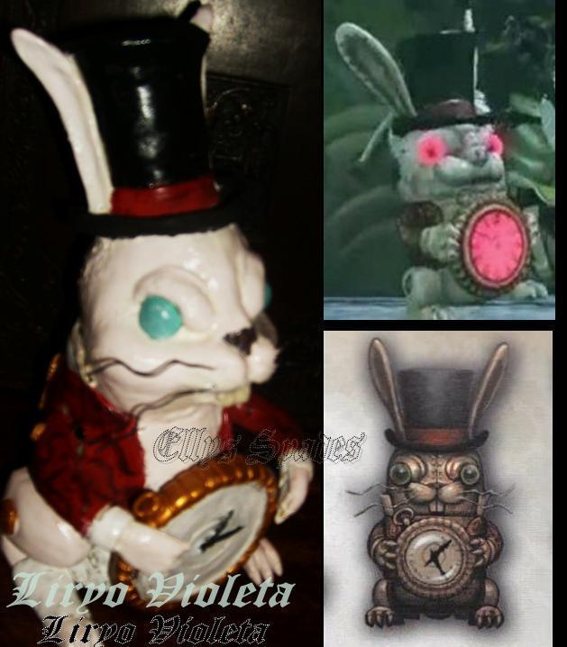 Mechanical White Rabbit Weapon by LiryoVioleta