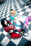 Alice Liddell - before and after by LiryoVioleta
