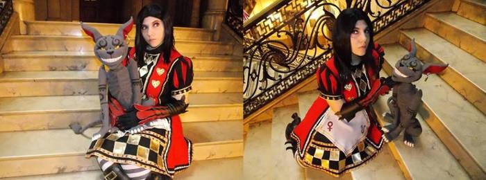 Alice Royal Suit Cheshire by LiryoVioleta