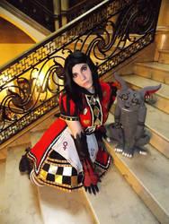 Alice Liddell Royal Suit by LiryoVioleta