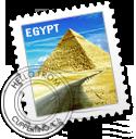 EGYPT stamp by SaimOnatoR