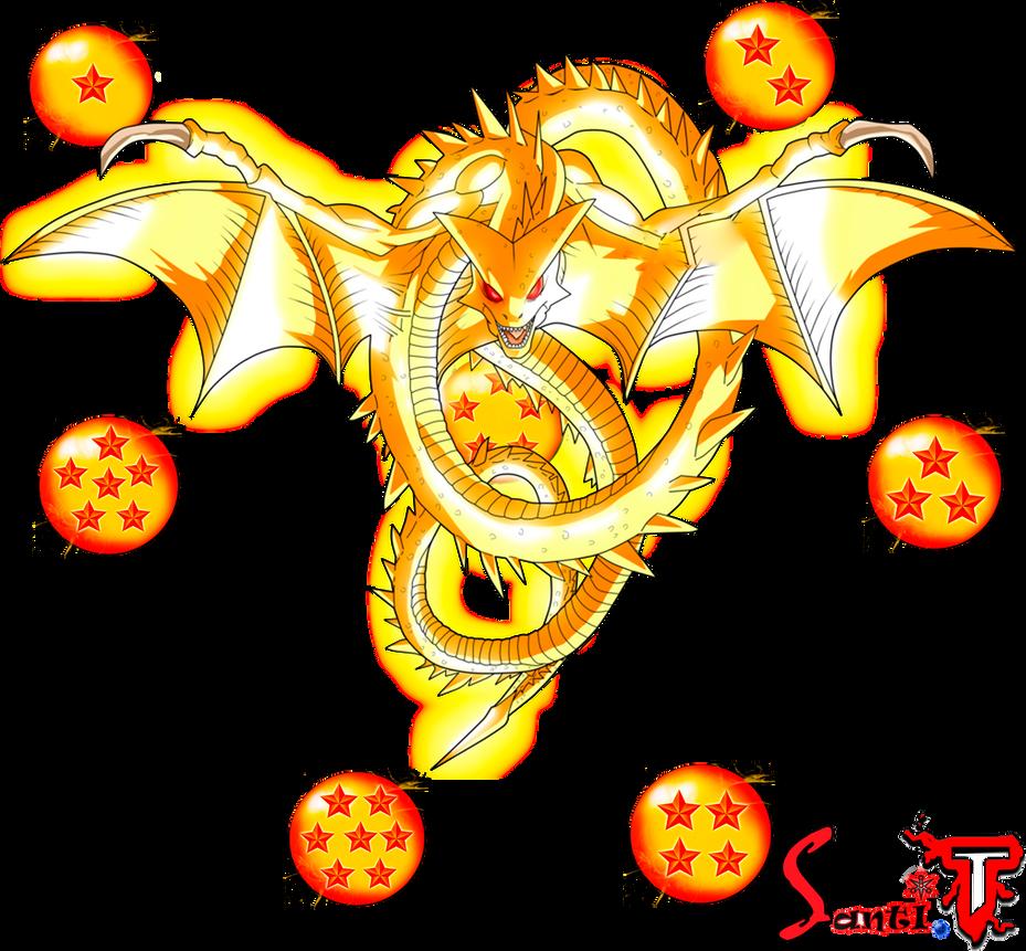super shenlong y las esferas del dragon png by santiago