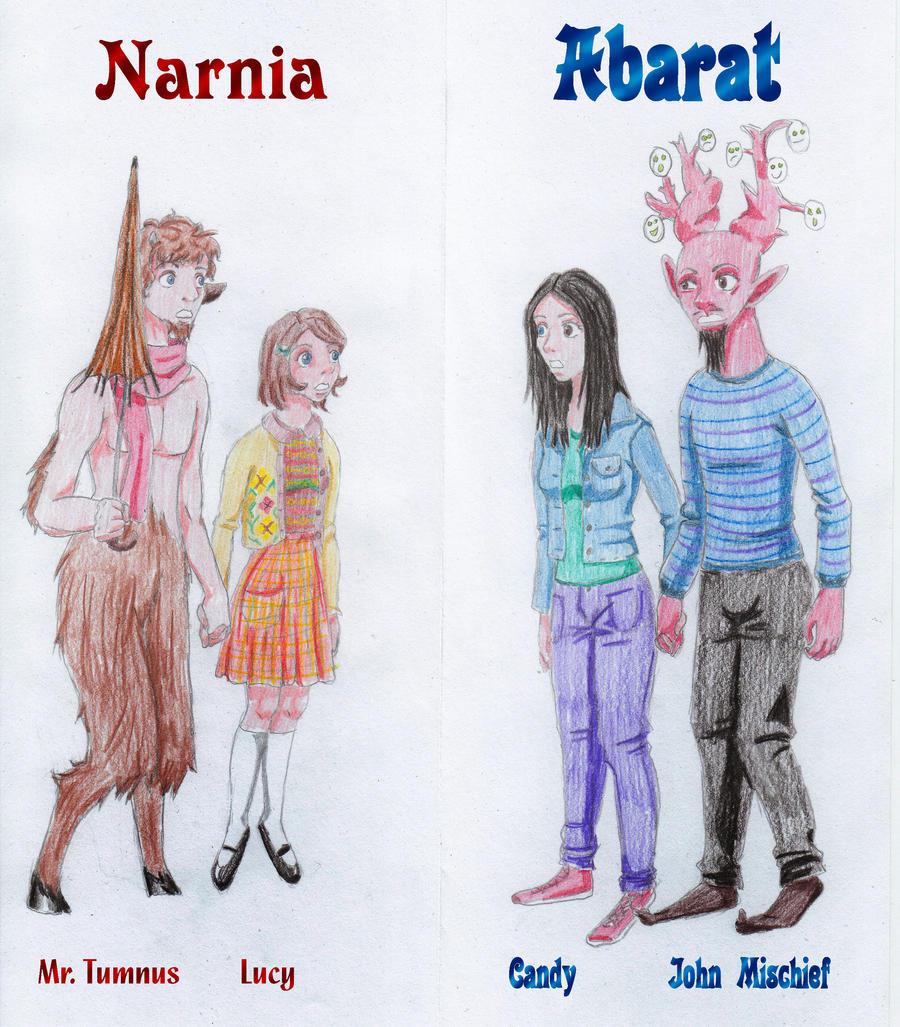 Narnia feat abarat by paakil on deviantart