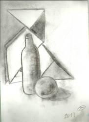 Dibujo 2- botella