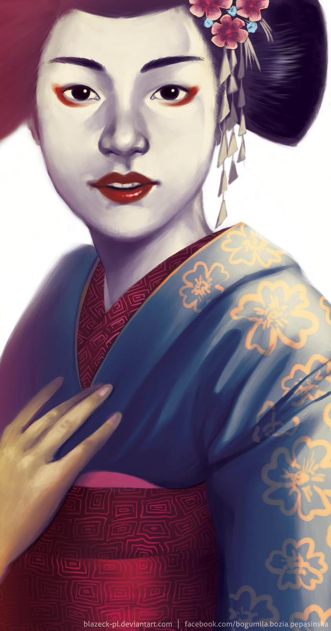 Geisha by BlazeCK-PL