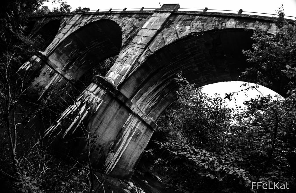 Train bridge by FFeLKat