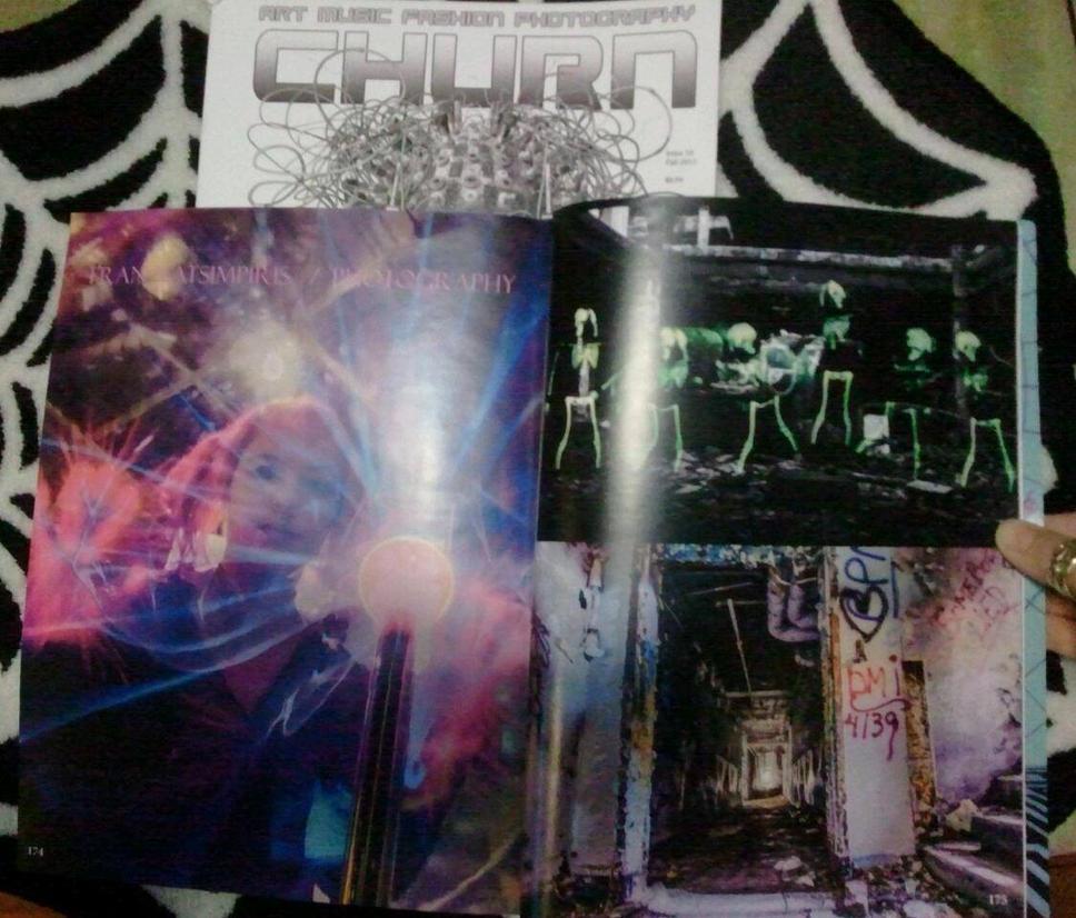 Churn Magazine issue #10 by FFeLKat