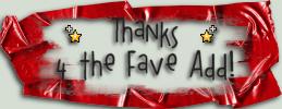 Thanks Fav Add Leigh408 5 by Leigh408