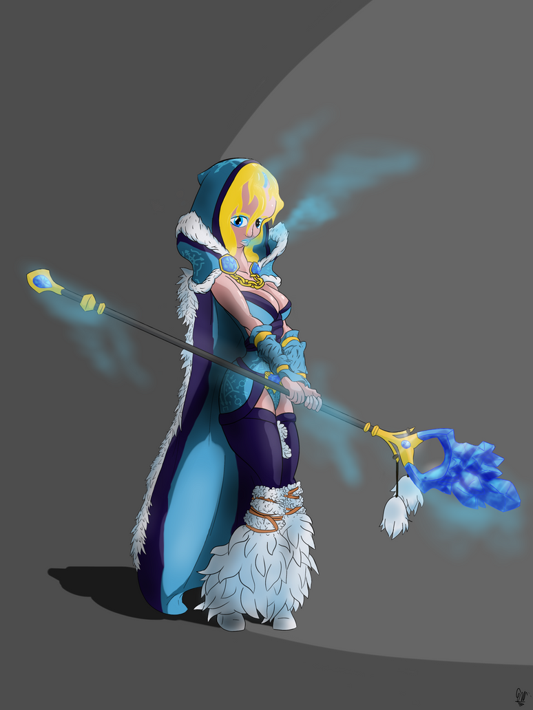 Crystal Maiden by Sir-Croco